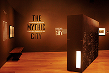 "The Mythic City<br/><span class=""sub"">Museum of the <br/>City of New York</span>"