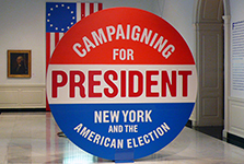 "Campaigning for President<br/><span class=""sub"">Museum of the <br/>City of New York</span>"