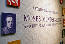 "Moses Mendelssohn<br/><span class=""sub"">Leo Baeck Institute &<br/>the Center for Jewish History</span>"