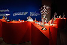 "Line of Fire <br/><span class=""sub"">The Jewish Museum</span>"