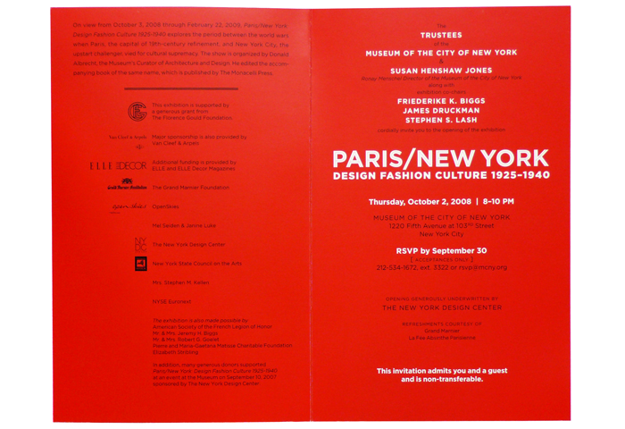 Paris New York Event Invitation – Event Invitation
