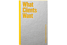 "What Clients Want <br/><span class=""sub"">IIDA FELDMAN</span>"