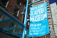 Seaport Museum Street Graphics