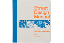 "Street Design Manual <br/><span class=""sub"">NYC DOT</span>"